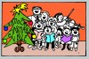 Vánoční jarmark barva zm